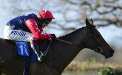 RACE WINNER Horizontal Speed ridden by Richard Johnson races after clearing the last - RACE 3 - 13.45 - totequadpot Four Places In Four Races Novices« Hurdle - PHOTO mandatory by-line: Dan Mullan/Pinnacle - Photo Agency UK Tel: +44(0)1363 881025 - Mobile:0797 1270 681 - VAT Reg No: 768 6958 48 - 30/12/2013 - EQUESTRIAN - HORSE RACING - Taunton Racecourse, Taunton, Somerset.