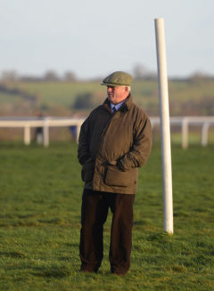 Trainer, Colin Tizzard looks on - RACE 5 - 14.55 - Steve Logan Memorial (County Contractors) Handicap Chase - PHOTO mandatory by-line: Dan Mullan/Pinnacle - Photo Agency UK Tel: +44(0)1363 881025 - Mobile:0797 1270 681 - VAT Reg No: 768 6958 48 - 30/12/2013 - EQUESTRIAN - HORSE RACING - Taunton Racecourse, Taunton, Somerset.